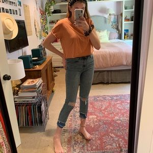 URBAN OUTFITTERS SKINNY HIGH RISE JEANS